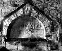 Tomb of Alasdair Crotach McLeod, St. Clement, Rodel, Harris, Scotland